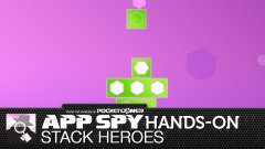 Hands-on with Stack Heroes, the towering arcade puzzler
