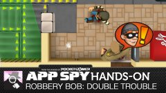 Hands-on with Robbery Bob: Double Trouble, where you can steal trousers off of people without them noticing