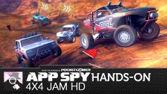 Hands-on with 4x4 Jam HD, the muddy good off-road racer from the Daytona Rush peeps