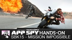 Hands-on with SBK15's Mission: Impossible mode, an oddly pleasing combo