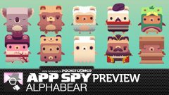 Hands-on with Alphabear, in which we go into the w-o-o-d-s at night