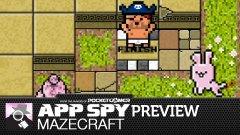 Hands-on with Mazecraft