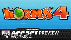 Hands-on with Worms 4
