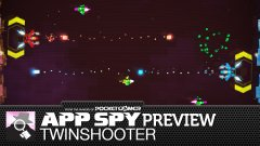 Hands-on with upcoming sci-fi suicide shmup TwinShooter