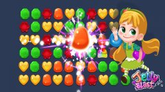Collect Jelly Gorgers to help you defeat the evil witch in Jelly Blast's latest update