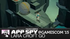 Hands-on with Lara Croft Go