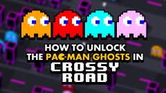 How to unlock the Pac-Man ghosts in Crossy Road
