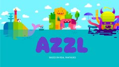 Complete puzzles inside a cartoon in AZZL out now on iOS