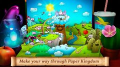 Help save the Paper Kingdom from the Lord of Darkness in Fold the World out now on iOS