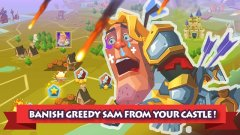 Defend against an evil human army in Monster Castle out now on iOS and Android