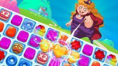 Complete hundreds of puzzles in the mobile match three hit Jelly Blast