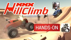 Arcade racer MMX Hill Climb pits monster trucks against tanks