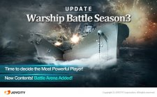 Take on the mightiest ships of WWII in Warship Battle's third season update