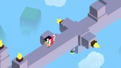 Ruins Ahead - Crossy Road meets Monument Valley?
