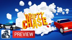 Rob a bank and speed away from the cops in Drifty Chase