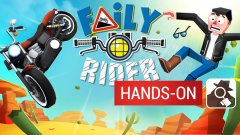 Race across America on a giant motorbike in Faily Rider