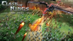 Fight for the throne in Clash of Kings: The West