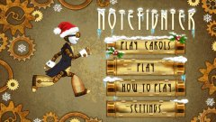Jingle Bells turns steampunk in Note Fighter's newest update