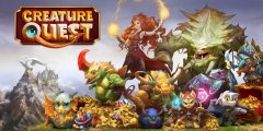 Explore new realms and tame fantastical Creatures in Creature Quest