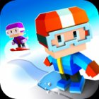 How to play Blocky Snowboarding on iPad and iPhone