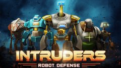 Expect metal and bullets to fly in new action-strategy game Intruders – Robot Defense