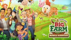 Big Farm: Mobile Harvest puts you in charge of your very own plot of land