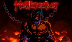 Smash, slice, and blast your way through heavy metal hell in vertical platformer Hellbreaker