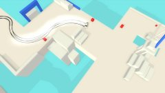 Drive with style in minimalist arcade racer Absolute Drift, coming to iOS and Android this year