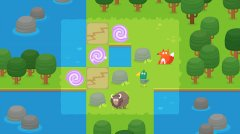Guide a trio of critters through forest puzzles in Woodways, available on iOS and Android