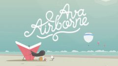 Hang-glide with skill in colorful arcade game Ava Airborne, out now on iOS