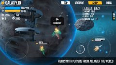 Galaxy.io Space Arena blasts its way onto mobile