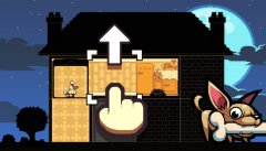 Nitrome's latest release In The Dog House is a tile-sliding canine puzzler