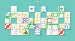 Break apart increasingly complex jigsaw grids in relaxing puzzler Unpuzzle