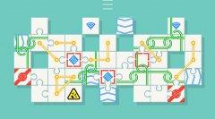 Break apart increasingly complex jigsaw grids in relaxing puzzler Unpuzzle