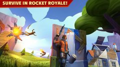 Rocket Royale is a new take on battle royale, out now on iOS and Android