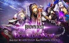 Uncover a rich fantasy world in Brown Dust for iOS and Android