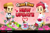Latest update for the charming QubeTown is wedding-themed and packed with new content