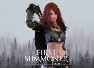 Fantasy RPG First Summoner challenges you to develop the perfect deck