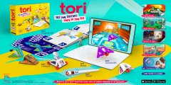 Tori is Bandai Namco's mobile-bound answer to Nintendo Labo