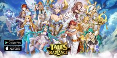Upcoming idle RPG 'Tales of Radiance' offers fast-paced combat and inventive mechanics