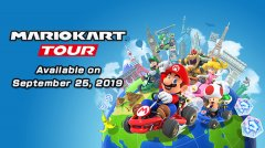 Mario Kart Tour racing toward an iOS and Android launch on September 25th