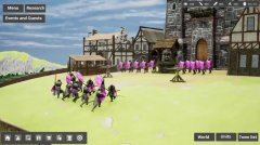 Medieval Dream Battle is an upcoming sandbox RTS for mobile
