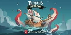 Pirates Outlaws celebrates its first anniversary in style with a major expansion