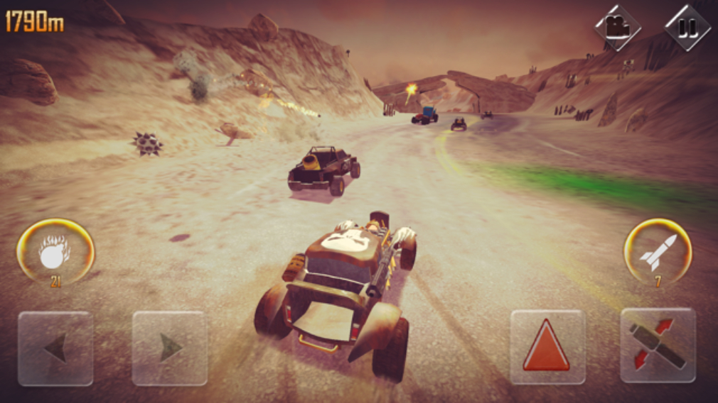 Devil's Peak Fury delivers Mad Max-inspired thrills to iOS ...