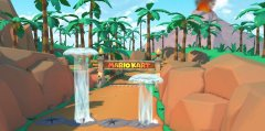 Mario Kart Tour's Jungle Tour begins today and takes players to a tropical rain forest