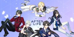 After Life: The Sacred Kaleidoscope is a gacha RPG where you manage handsome anime boys