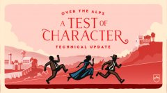 Over the Alps' 'A Test of Character' update improves the Apple Arcade hit's police pursuits