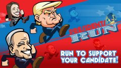 Test your endless running skills in Presidents Run, available now for iOS and Android