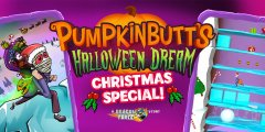 Pumpkinbutt's Halloween Dream latest content drop introduces 40 new Christmassy stages