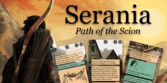 Text adventure RPG Serania – Path of the Scion releases next week